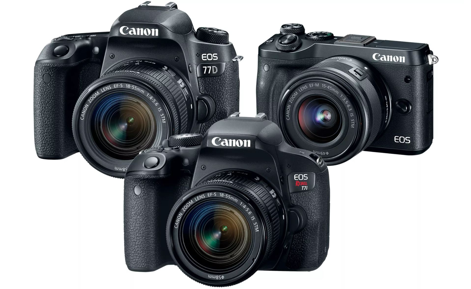 Canon EOS 77D, Rebel T7i, M6 Manuals now Available for Download