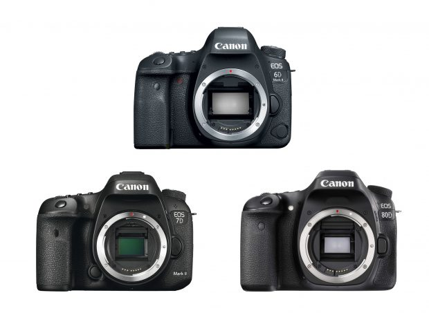 Canon 6D Mark II Vs. 7D Mark II Vs. 80D Specs Comparison ...