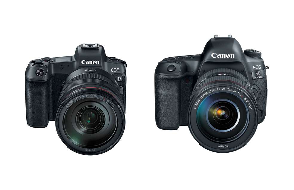 Specs Comparison Canon Eos R Vs Eos 5d Mark Iv Canon