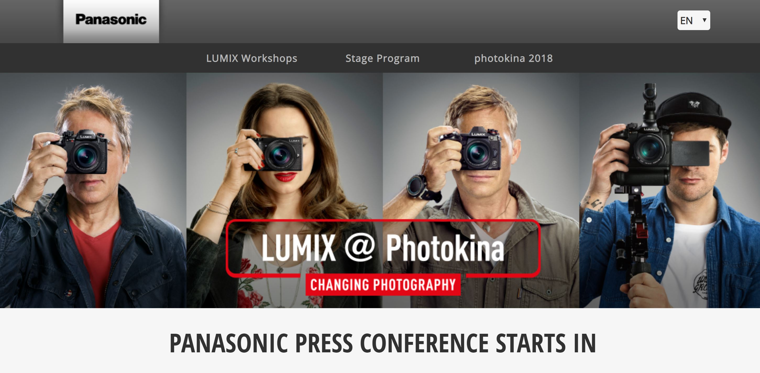 Competitor Rumors: Panasonic to Announce 2 FF Mirrorless Cameras