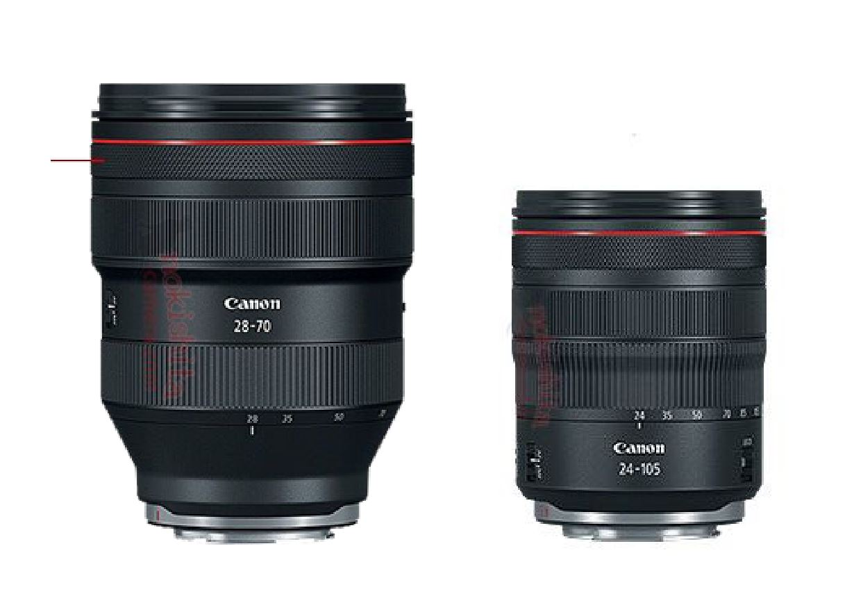 Size Of Canon Rf 28 70mm F 2l Usm Lens Mount On Eos R Rumors Co Lensa Ef 70 200mm 28l Is Ii It Seems That This Not Very Large You Can Also Take A Look At Compared To 24 105mm 4l