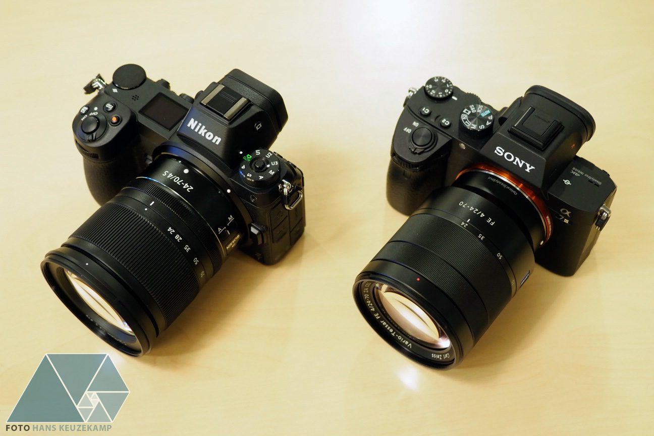 Canon Eos R Vs Nikon Z7 Vs Sony A7 Iii Side By Side