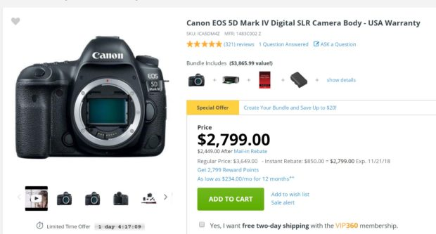 Canon EOS 5D Mark IV – Canon Rumors CO
