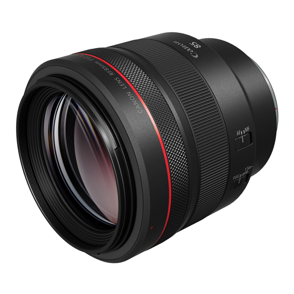 Canon RF 85mm f/1.2L USM Lens Announced